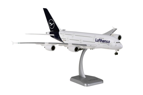 Airbus A380-800 Lufthansa New Livery D-AIMB München Scale 1:200 w/G