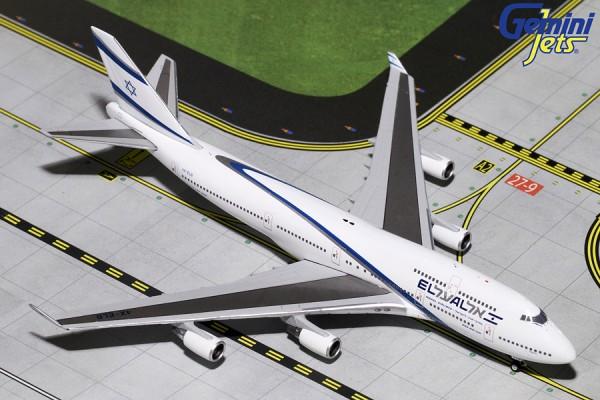 Boeing 747-400 El Al Israel Airlines 4X-ELB Scale 1/400