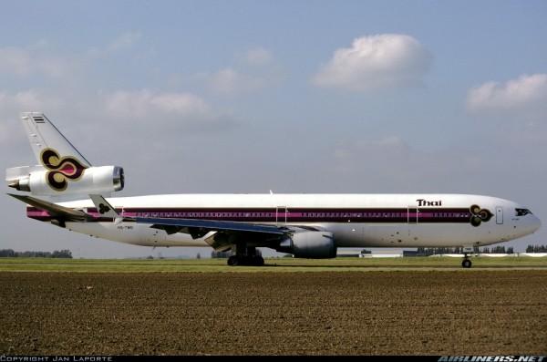 McDonnell Douglas MD-11 Thai Airways HS-TMD Scale 1:200