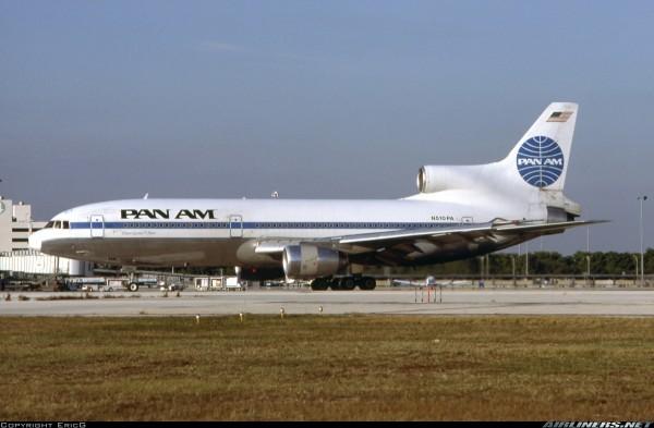 Lockheed L-1011-500 TriStar Pan American World Airways - Pan Am N510PA Scale 1/400