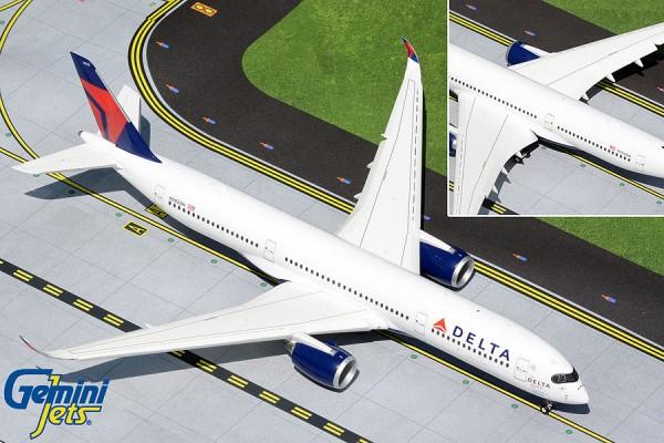 "Airbus A350-900 Delta Air Lines ""The Delta Spirit"" Flaps Down Version N502DN Scale 1/200"