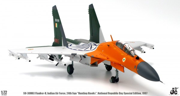 Sukhoi SU-30MKI Flanker-H Indian Air Force Scale 1/72