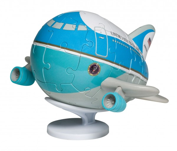 3D Puzzle Plane Air Force one with stand