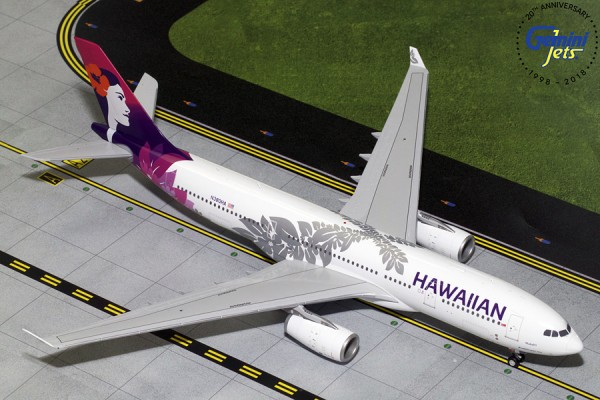 Airbus A330-200 Hawaiian Airlines N380HA Scale 1/200