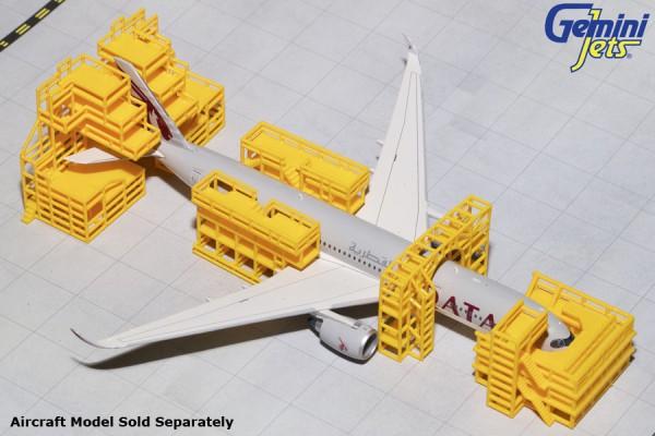 Aircraft Maintenance Scaffolding GeminiJets Scale 1/400