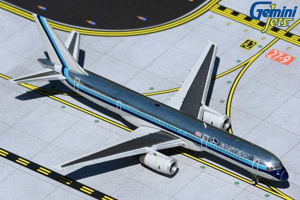 """Boeing 757-200 Eastern Air Lines """"polished livery"""" N502EA Scale 1/400"""
