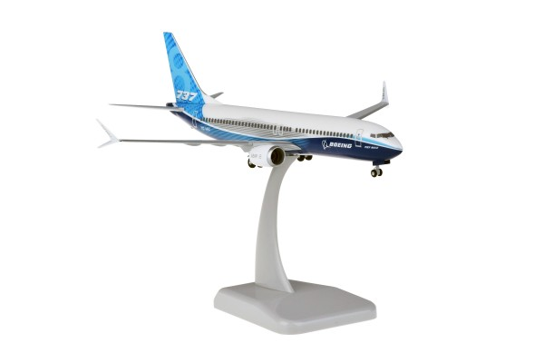 Boeing 737 MAX 8 House Color New Livery Scale 1:200
