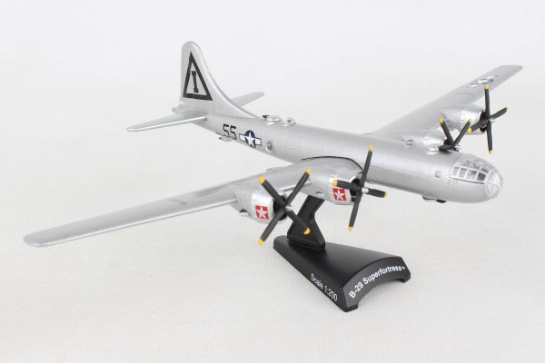 POSTAGE STAMP Boeing B-29 Superfortress JACK'S HACK Scale 1/200