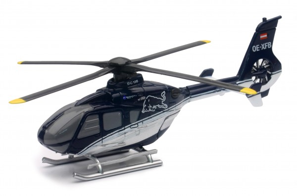 Helicopter EC-135 Red Bull 1/100