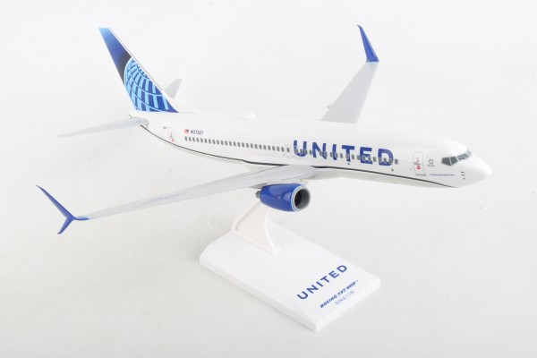 Boeing 737-800 United Airlines New Livery Scale 1/130
