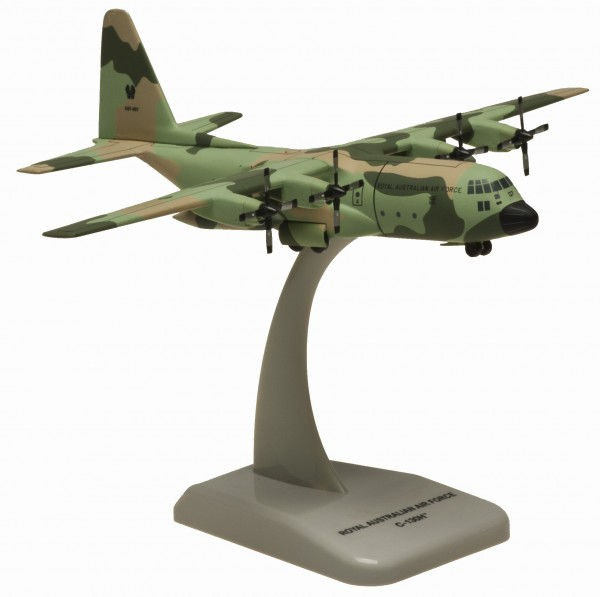 """Lockheed C-130H RAAF Camouflage A97-007 """"Licence to Deliver"""" Scale 1/200"""