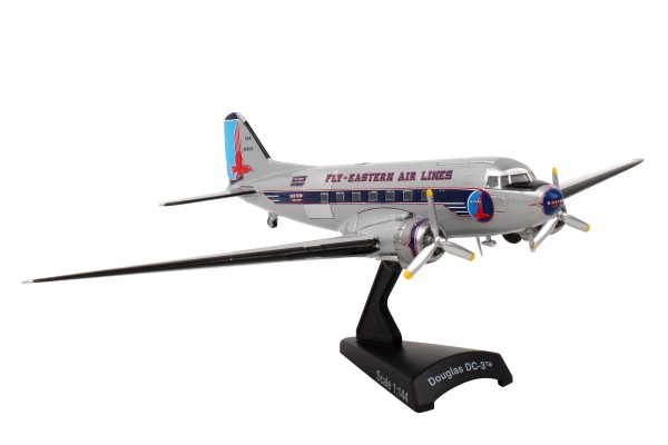 POSTAGE STAMP Douglas DC-3 Eastern Scale 1/144