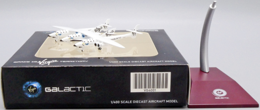 """Virgin Galactic Scaled Composites 348 White Knight II """"Old Livery"""" N348MS Scale 1/400"""