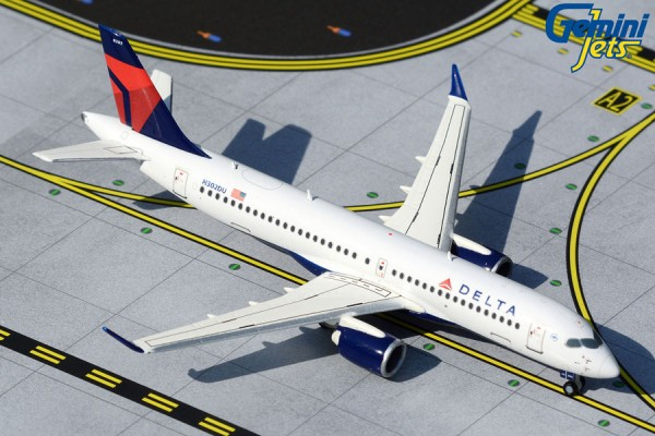 Airbus A220-300 Delta Airlines Scale 1/400