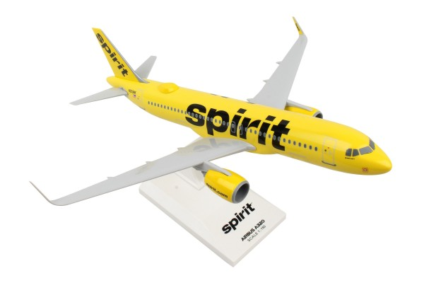 Airbus A320neo Spirit Airlines NL with WiFi Dome Scale 1/150