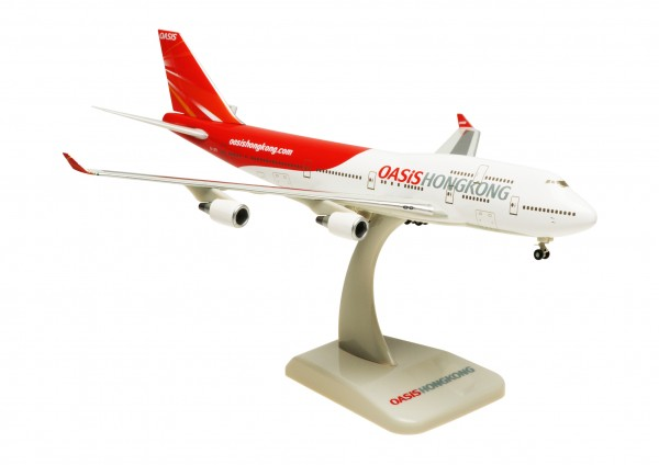 Boeing 747-400 Oasis Hong Kong Scale 1:400