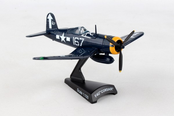 POSTAGE STAMP Vought F4U Corsair #167 USN Scale 1/100