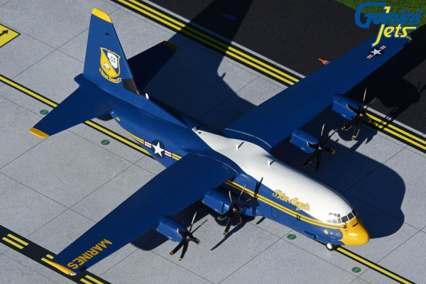 Lockheed C-130J Hercules U.S. Marines Blue Angels 170000 Fat Albert Scale 1/200