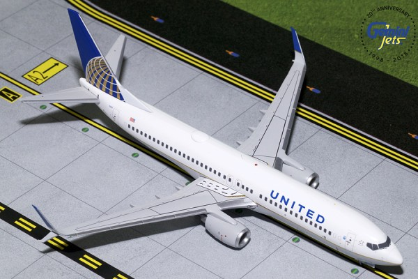 Boeing 737-800 United Airlines Scale 1/200