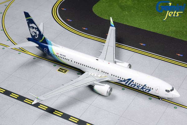 Boeing 737 MAX 9 Alaska Airlines Scale 1/200