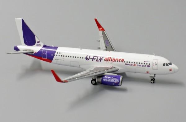 """AirbusA320WWestAir""""U-FlyAlliance"""" B-1897 Scale 1/400"""