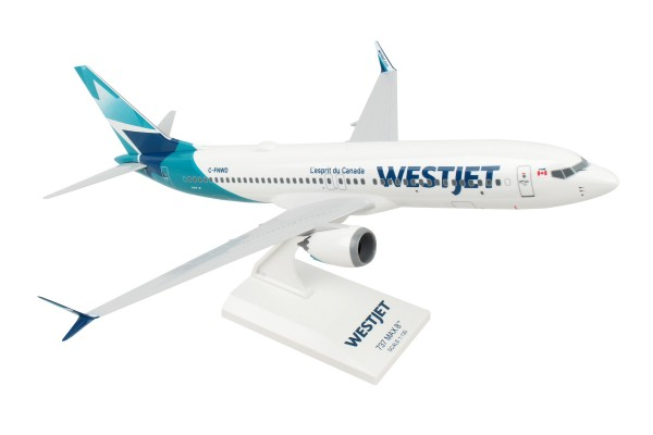 Boeing 737-MAX8 Westjet Airlines Scale 1/130
