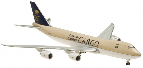 Boeing 747-8F Saudi Arabian Cargo Ground Configuration Scale 1:400