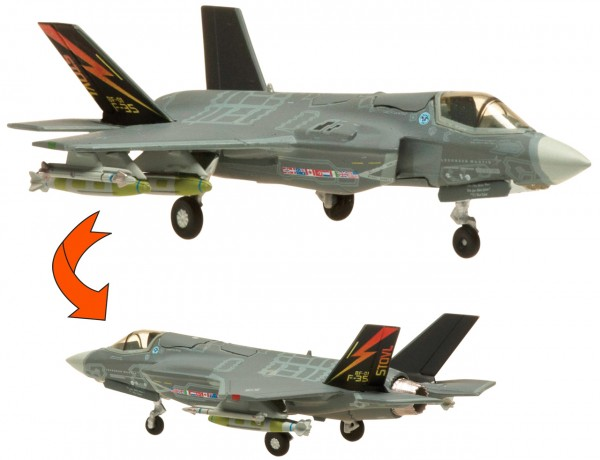 Lockheed Martin F-35B Lightning II US Marines BF-01 with Close Canopy Scale 1/200