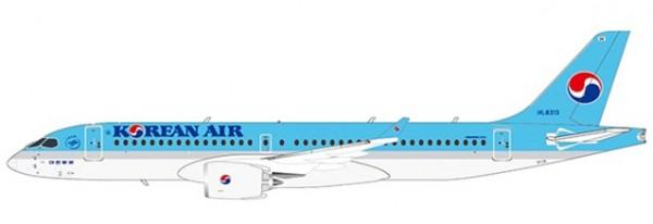 Airbus A220-300 (Bombardier CS300) Korean Air HL8313 Scale 1/400