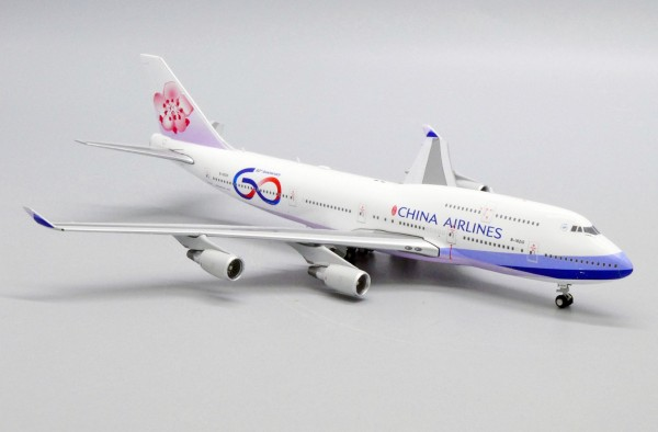 """Boeing 747-400 China Airlines """"60th Anniversary"""" Flap Down Version B-18210 Scale 1/400"""