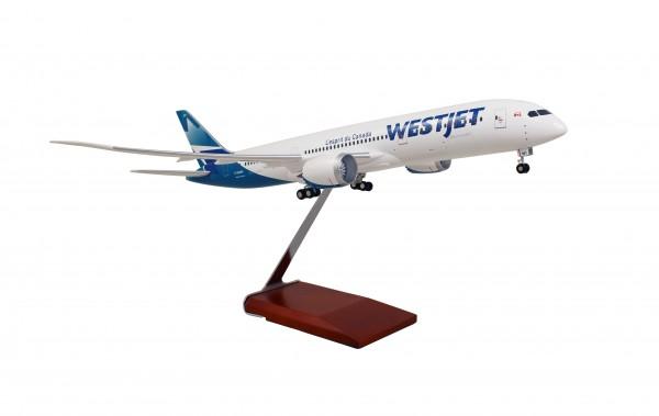 Boeing 787-9 Westjet Airlines Scale 1/100 w/Gear