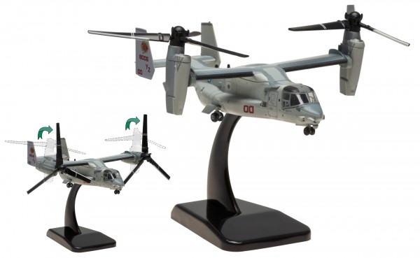 """Bell-Boeing MV-22B US Marines VMM-363 """"Lucky Red Lions"""", Bureau Number:168006 Scale 1/200"""