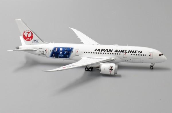 """Boeing 787-8 Dreamliner Japan Airlines """"Spirit of Victory"""" JA841J Scale 1/400"""