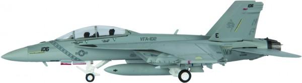"McDonnell Douglas F/A-18F Hornet US Navy VFA-102 ""Diamondbacks"", NF 106 Scale 1/200"