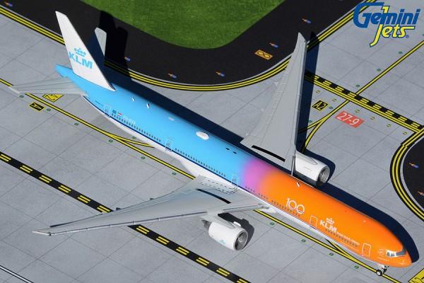 "Boeing 777-300ER KLM ""Orange Pride/KLM 100 logo"" PH-BVA Scale 1/400"