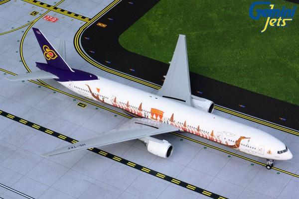"Boeing 777-300 Thai Airways International ""Suphannahong Royal Barge"" Scale 1/200"