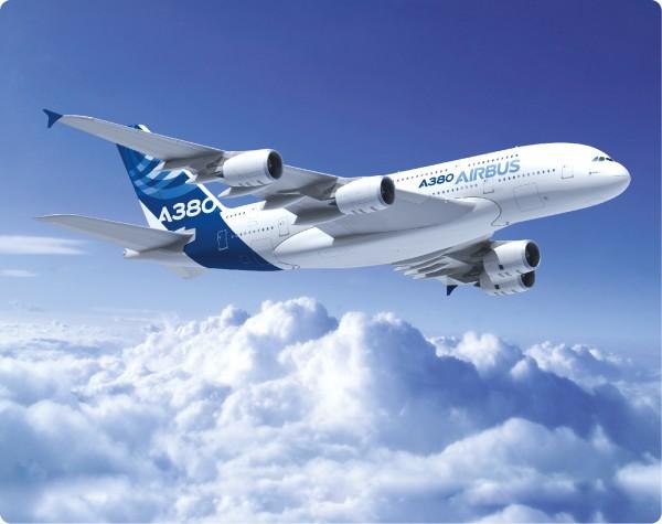 Airbus A380 HC air to air Mousepad