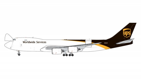 Boeing 747-8F UPS United Parcel Service Scale 1/400