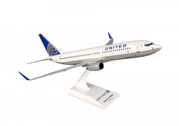 "Boeing 737-800 United Airlines ""Post Co Merger Livery"" Scale 1/130"