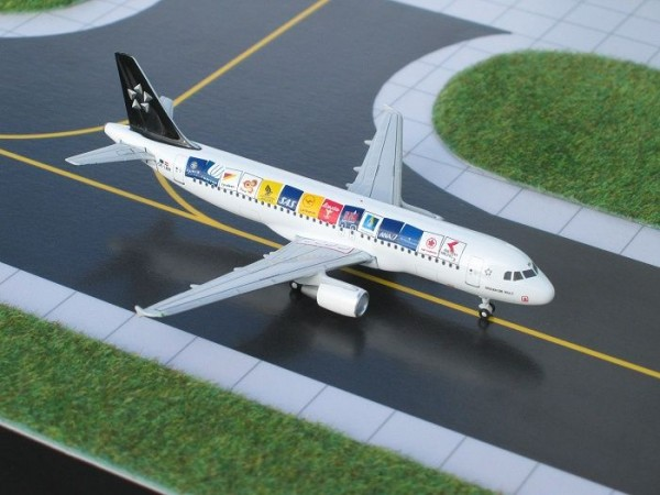 Airbus A320-200 Austrian Airlines (Star Alliance) OE-LBR Scale 1/400