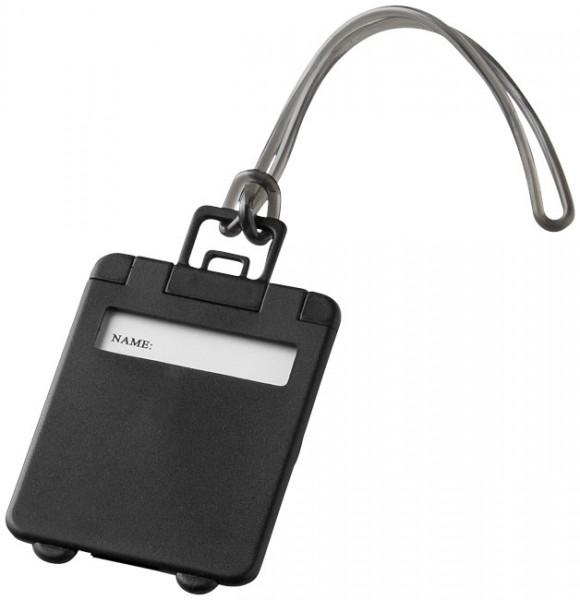 Kofferanhänger schwarz / Luggage Tag black