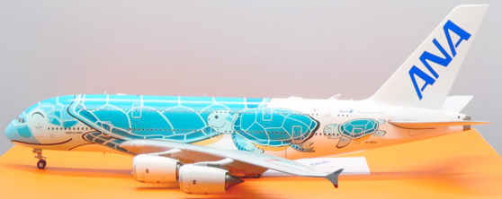 """Airbus A380-800 All Nippon Airways (ANA) """"Flying Honu - Kai Livery"""" JA382A Scale 1/200"""