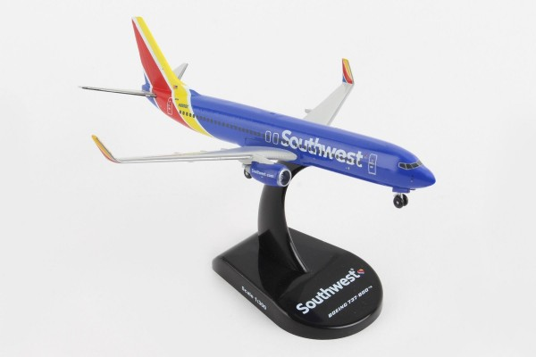 POSTAGE STAMP Boeing 737-800 Southwest Airlines Scale 1/300