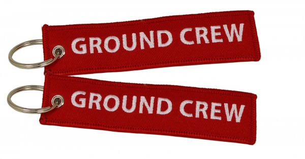 Key ring - Ground Crew 125 x 30 mm