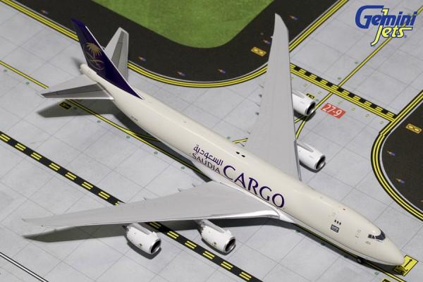 Boeing 747-8F Saudi Arabian Airlines Cargo HZ-AIH Scale 1/400