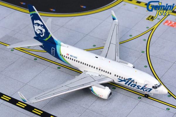 Boeing 737-700 Alaska Airlines N614AS Scale 1/400