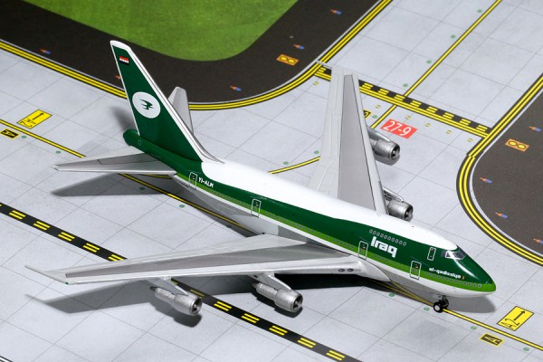 Boeing 747SP Iraqi Airways Scale 1/400