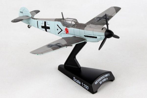 POSTAGE STAMP Messerschmitt Bf 109 Adolf Galland Scale 1/87