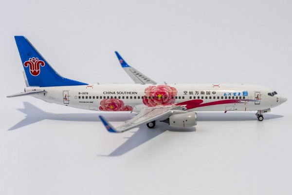 """Boeing 737-800 China Southern Airlines """"Home Town Henan"""" B-1979 Scale 1/400"""
