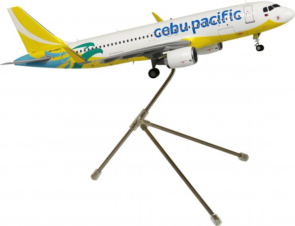 Airbus A320-200 Cebu Pacific (New Livery, Sharklets) Scale 1/200